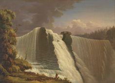 Le Kakkabakka (Cackabakah) Falls. Kakabeka Falls sul Kamistiquia River, presso Thunder Bay, in Ontario.  Il nome deriva dalla parola ojibwa 'gakaabikaa', Cascate Sopra la Scogliera.