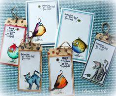 Britas hobbyloft, Bird Crazy og crazy cats.