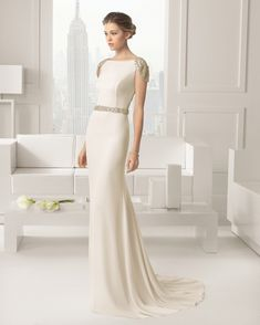 Sophisticated Bride Dresses Rosa Clara – Collection 2015