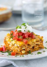Mexican Lasagna | Co