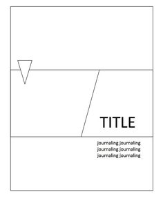 mimicing a trend in billboard and sign design: a long rectangular element divided in two on the diagonal. by vivian of OA