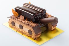A tank shaped cake inspired by the anime Girls Und Panzer
