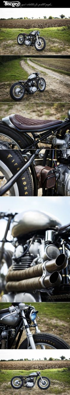 "Yamaha XS650:: ""The Tempest"":: Old Empire Motorcycles