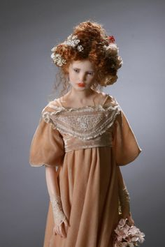 Art doll by Laura Scattolini