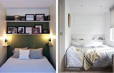 Narrow bedroom inspiration!