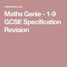 Maths Genie is a free GCSE and A Level revision site. This page has revision notes, videos and past exam questions arranged by topic. A Level Revision, Gcse Maths Revision, A Level Exams, Revision Notes, Solving Equations, Math Equations, Past Exams, Past Papers, Question Paper