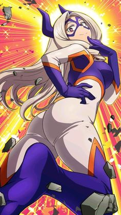 See more 'My Hero Academia' images on Know Your Meme! My Hero Academia, Hero Academia Characters, Female Characters, Anime Characters, Mount Lady, Fanart, Hero Wallpaper, Hero Girl, Another Anime