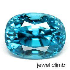 ブルージルコン(Blue Zircon)4.87CT