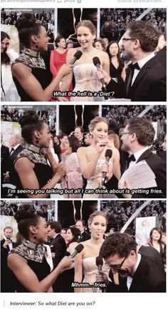 Jennifer Lawrence is hilarious!