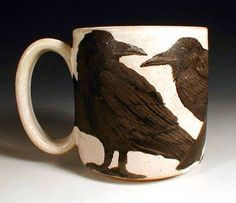 Love this Crow Mug.....by __________???