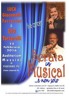 La duttilità canora di Luca Giacomelli Ferrarini, assieme alla padronanza e maturità vocale di Giò Tortorelli, crea una combinazione d'incredibili sonorità, capace di rendere il concerto LIVE un evento unico.