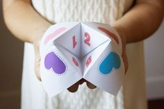 Fun Fortuneteller Printables - 15 Valentine's Day Free Printables - ParentMap