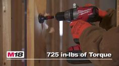 Check out one of most powerful Cordless Hammer Drill/Driver on the market, the Milwaukee Fuel! It is really a powerful tool! Cordless Hammer Drill, Milwaukee M18, Power Hand Tools, Drill Driver, Check, Cordless Impact Drill, Drill
