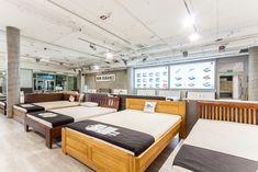 Łóżko dębowe LK 212 Ul, Conference Room, Table, Furniture, Home Decor, Decoration Home, Room Decor, Tables, Home Furnishings