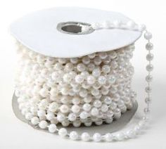 White pearl strands cheap for decorations Wedding Supplies, Party Supplies, Craft Supplies, Wedding Crafts, Wedding Decorations, Wedding Ideas, Bachelorette Party Activities, Celebrate Good Times, Beaded Garland