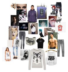 """""""Wolf wear"""" by suzinjersey ❤ liked on Polyvore"""