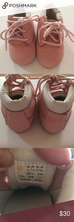 Pink Timberland Baby Boots These adorable baby booties are specially  crafted for brand-new feet 86b461903fd1