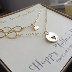 Mütter Tag Geschenk von Tochter Mutter Tochter von thejewelrybar
