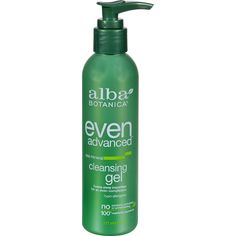 Alba Botanica Natural Even Advanced Sea Mineral Cleansing Gel - 6 fl oz - Alba Botanica Natural Even Advanced Sea Mineral Cleansing Gel Description:   New and Improved Foams Away Impurities for an Even Complexion Hypoallergenic Vegetarian Paraben Free Dont be shy. Get fresh! Lather away the daily grime with this frothy cleanser that freshens and brightens your complexion. This naturally powerful Marine Complex rich in sea minerals stimulates cell regeneration for a more even skin tone while…