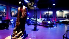 Batman Cave where they house all the bat mobiles - Warner Bros Studio Tour Hollywood