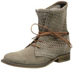 SPM Oklahoma 60026079-003, Damen Combat Boots, Grau (Ardesia), EU 38: Amazon.de: Schuhe & Handtaschen