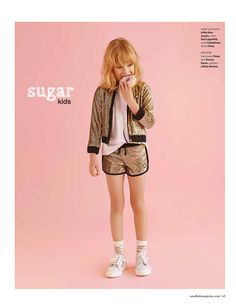 Olivia de Sugar Kids para Smallish Magazine