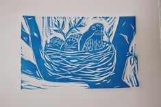 Printmaking with Toddlers | Feathered Nest Studio