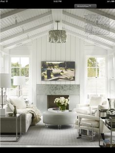 Great Cosmo settled into cottage architecture Elle Decor US | Pin it 34 Like 2 Image