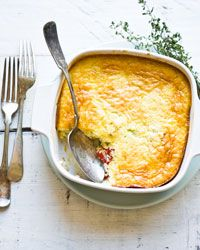 Corn Pudding Recipe // More Great Vegetable Recipes: http://www.foodandwine.com/vegetable-recipes #foodandwine