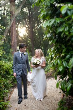 Melanie and Antony's Garden Wedding – Woodbyne, Berry