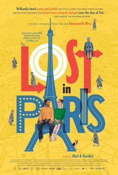 My review of LOST IN PARIS: