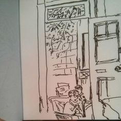View of #todayoffice #30dayssketching