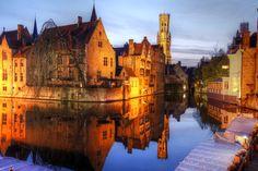 美しすぎる中世ヨーロッパの街並み、北のヴェネチア『ブルージュ』   wondertrip
