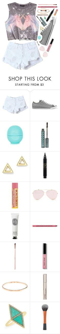"""Unicorns 💗"" by barbiecar ❤ liked on Polyvore featuring Forever 21, WithChic, Converse, Eos, Mateo, MAC Cosmetics, Diptyque, Charlotte Russe, Bobbi Brown Cosmetics and By Terry"