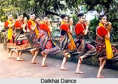 Dalkhai dance, Tribal/Folk dance from Sambalpur, Odisha, India.