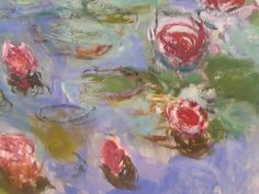 Lily pads, Monet.