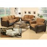 Mia Microfiber Hidden Bed Sofa and Loveseat Set  SPECIAL PRICE: $1,219.00