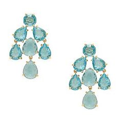 chandelier earrings - kate spade. i prefer drops, but love the color