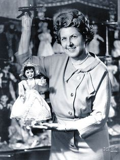 Hazelle Hedges Rollins began making marionettes at the age of 22 and developed the only marionette factory in the United States and one of the largest in the world, Hazelle Marionettes. She made her first sale during the 1934 Christmas season and designed her own machinery for her factory. By 1962, Hazelle, Inc. was the world's largest exclusive manufacturer of marionettes. At the time the company was sold after 43 years of business, she had designed 300 puppets and held four patents.