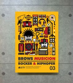 BROWSFAMILY_Graphic Poster - 그래픽디자인, 캐릭터디자인, 일러스트