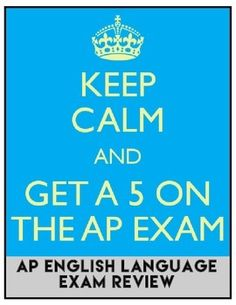What do I need to know for the English Language (English 3) AP Exam?