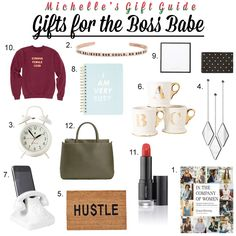 Holiday Gift Guide: Boss Babe http://openhartz.com/home/2016/12/12/holiday-gift-guide-boss-babe