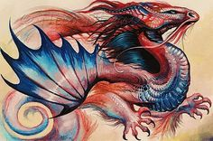 Art: Spirit Dragon by Artist Nico Niemi