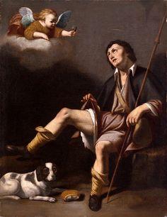 Guy François - Saint Roch und der Engel
