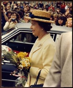 HM Queen Elizabeth in Vancouver at Asian Centre | eBay