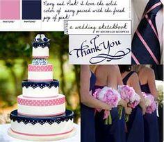 Image detail for -... .weddinginacastle.com/files/2010/03/navy-pink-inspiration-board.jpg