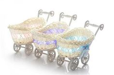 Asvp shop® baby pram #small hamper #wicker basket baby shower party #gifts,  View more on the LINK: http://www.zeppy.io/product/gb/2/261751026288/