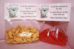 valentines from teachers | Valentine Treats from the Teacher Bag Topper (Digital File)