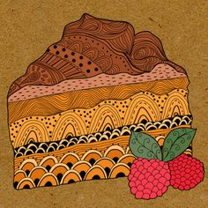 My little bakery by Pridumala , via Behance