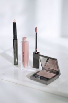 An entire look with Burberry Beauty